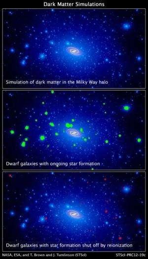 Hubble telescope unmasks ghost galaxies