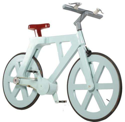 Israeli inventor has backers for cardboard bicycle
