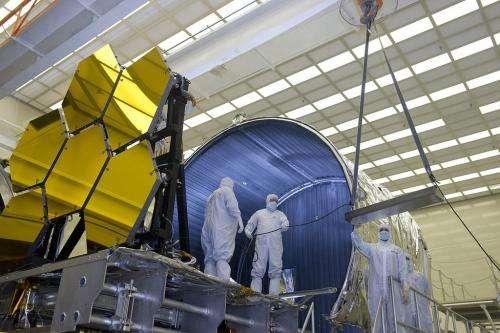 James Webb space telescope's mirrors get 'Shrouded'