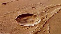 Melas Dorsa reveals a complex geological history on Mars
