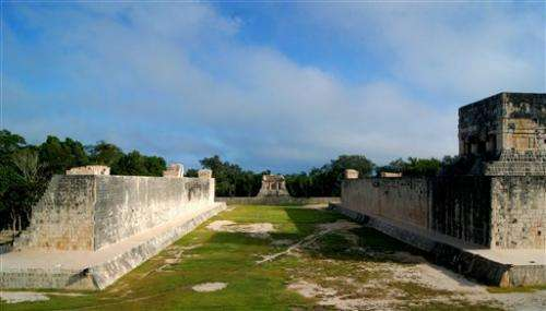 Mexico:  Mayan ball court was celestial 'marker'