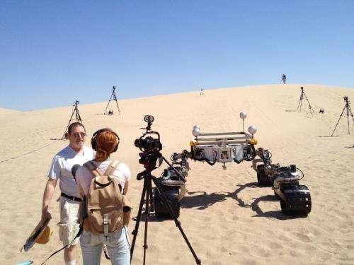 Mojave Desert tests prepare for NASA Mars Roving