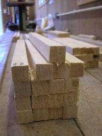 Nanostructure of cellulose microfibrils in spruce wood