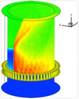 Navy researchers look to rotating detonation engines to power the future