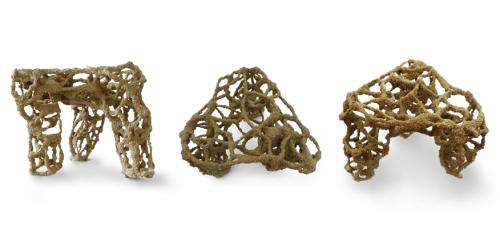Researcher use robot arm to print 3D sand structures