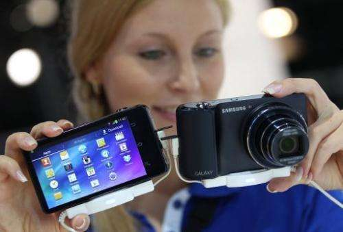 Samsung is the world's top maker of smartphones and memory chips