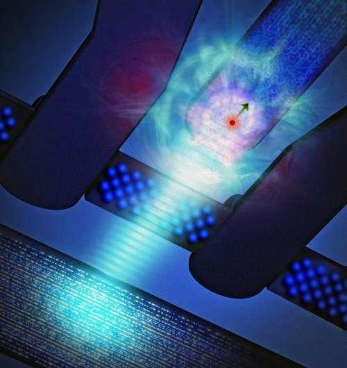 Single-atom writer a landmark for quantum computing
