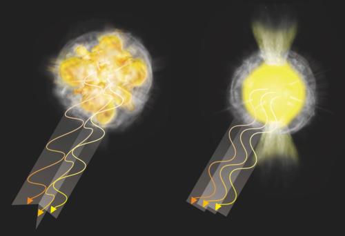 Subaru telescope reveals 3D structure of supernovae