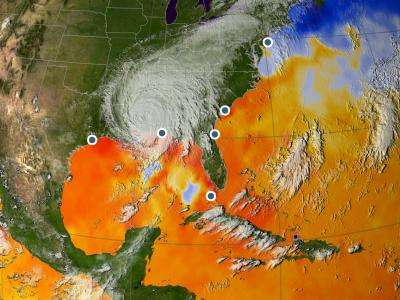 Tropical cyclones are occurring more frequently than before