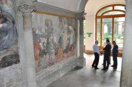 UC San Diego researchers in Florence explore new ways to search for lost Leonardo mural
