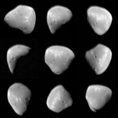 Where is Mars's moon Deimos?
