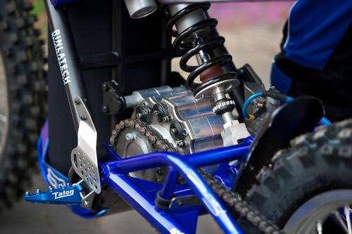 Yamaha-frame bike with scuba tank makes Dyson shortlist