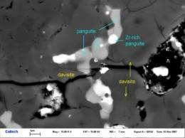 Scientists find new primitive mineral in meteorite