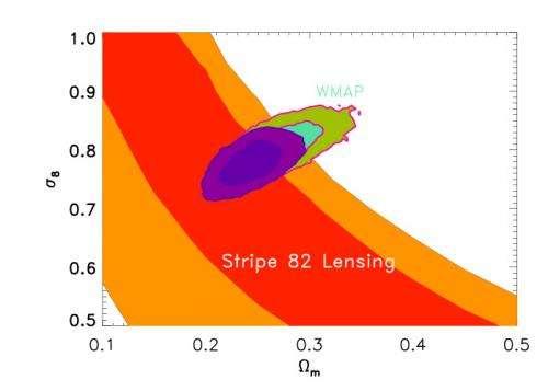 Clearest picture yet of dark matter points the way to better understanding of dark energy