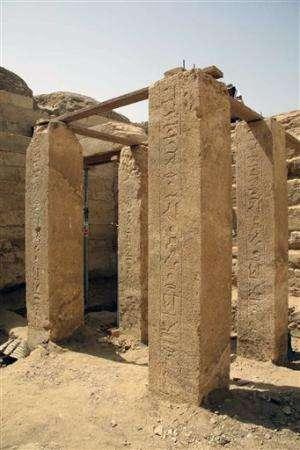 Pharaonic princess's tomb found near Cairo, Egypt