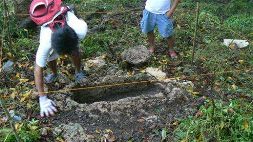Unique tombs found in Philippines (Update)