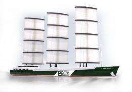 Work starts on fossil fuel free cargo ship set to transform shipping industry