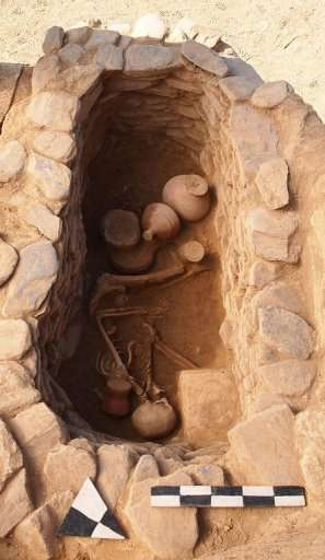Archaeologists say the tombs point to  a culture that predates the Buddhist Gandhara civilisation