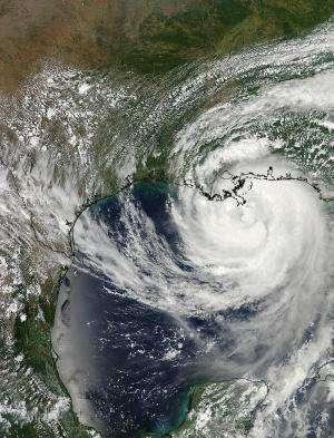 NASA sees Hurricane Isaac make double landfall in Louisiana