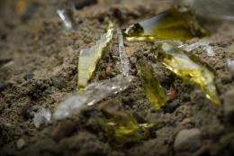 Recipe for success: Recycled glass and cement