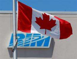 BlackBerry marketing head undeterred by share loss