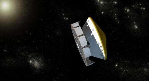 Mars-bound NASA craft adjusts path, tests instruments