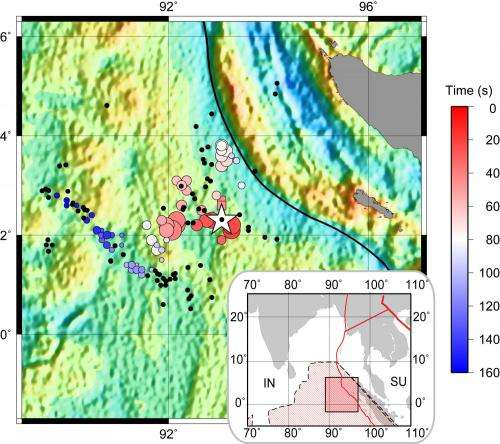 Researchers provide highest-resolution observations yet of the complex 2012 Sumatra earthquake