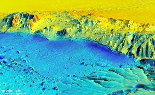 Researchers create 3-D laser maps that show how earthquake changes landscape