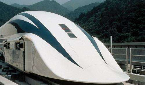Japan's newest floating train is one blistering maglev