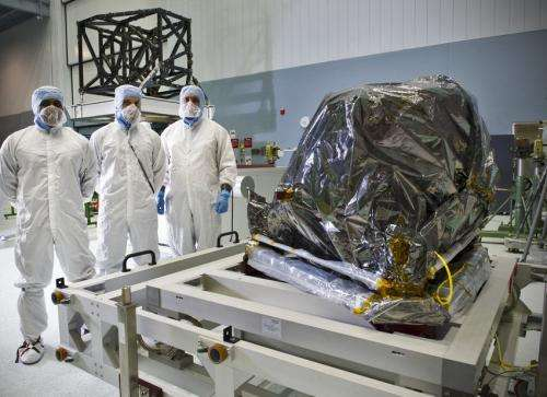 NASA's 'Webb-Cam' has double vision for MIRI's arrival
