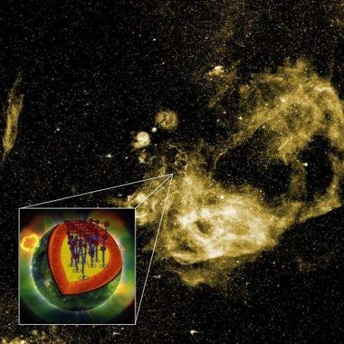Researchers find a 'glitch' in pulsar 'glitch' theory