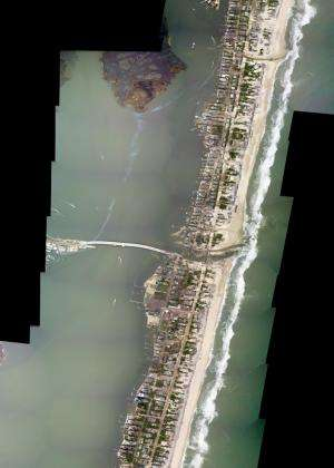 NASA images reveal how Hurricane Sandy changed coastline in New Jersey