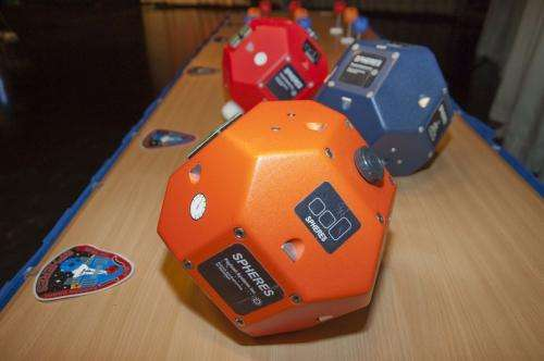 Robot competition in zero-gravity