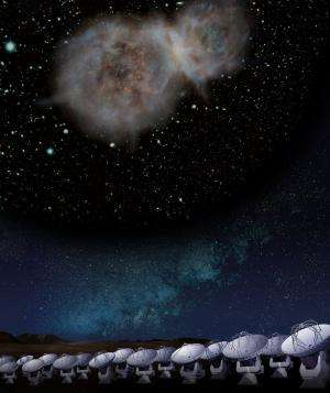 ALMA reveals constituent of a galaxy at 12.4 billion light-years away