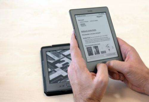 """Apple says it is a hero for prying Amazon's """"monopolistic grip"""" from the e-book market"""