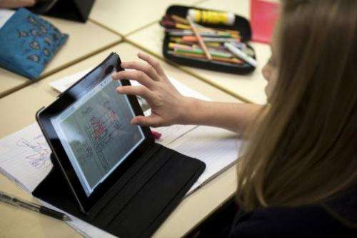 Apple's iPad was chosen partly because its extended battery life suits the school day and gives it an edge over rivals