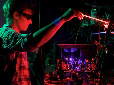 At the solstice: shining light on quantum computers