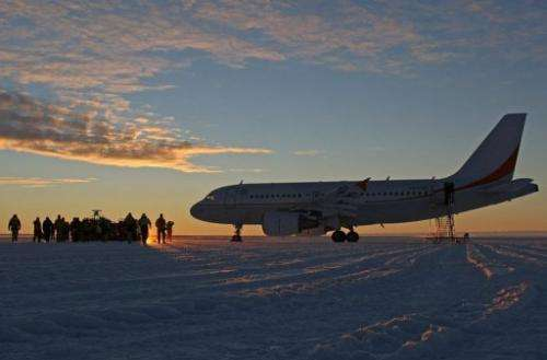 Australia is searching for a new site for planes supplying its bases in Antarctica as the current runway is melting