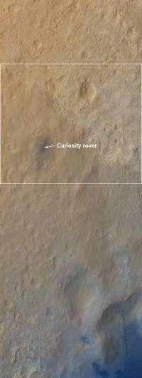 A whole new world for Curiosity