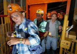 Bad weather is hampering efforts to plug waste spillage at Padcal gold mine