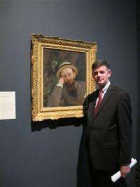 Before Facebook, there was Manet, painting friends
