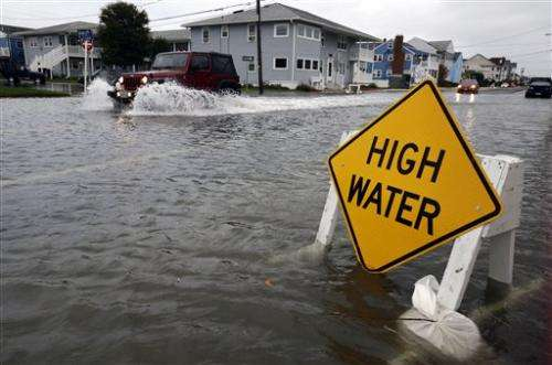 Biggest threat from Frankenstorm: Too much water