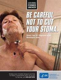 CDC launching graphic anti-smoking ad campaign (AP)