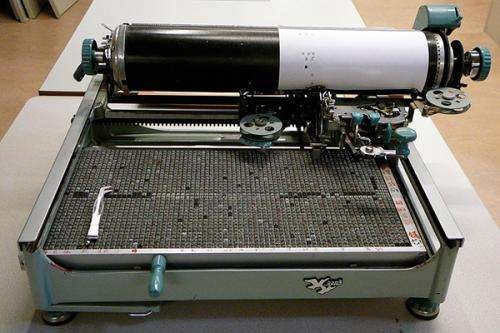 Chinese typewriter anticipated predictive text, finds Stanford historian