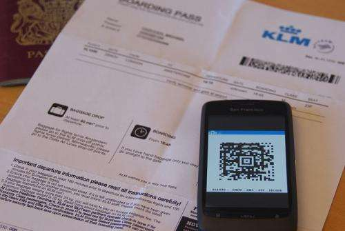 Concerns raised about airline boarding pass barcodes