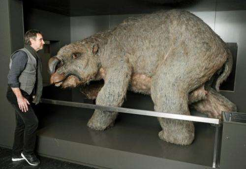 Diprotodon, the largest marsupial ever to roam the earth, weighing up to 2.8 tonnes