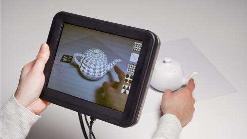 Disney researchers add sense of touch to augmented reality applications
