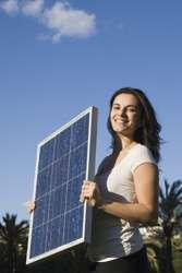 Electron transport in dye-based solar cells
