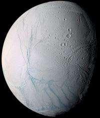 Is it snowing microbes on Enceladus?