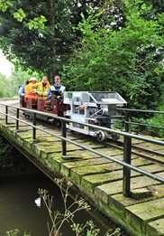 Engineering students build UK's first hydrogen powered locomotive